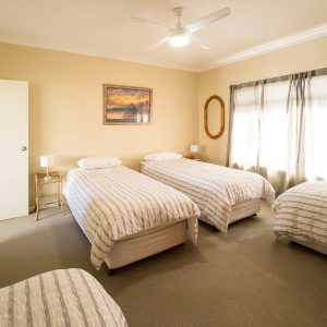 Southerly Change Gerroa holiday house 4 single beds bedroom