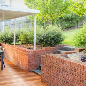 Southerly Change Gerroa holiday house accommodation back yard outdoor entertaining deck