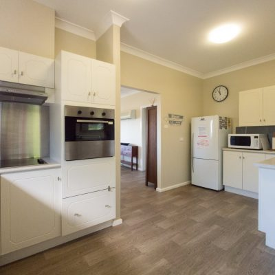 Spacious kitchen at Southerly Change, holiday house rental accommodation at Gerroa, Seven Mile Beach