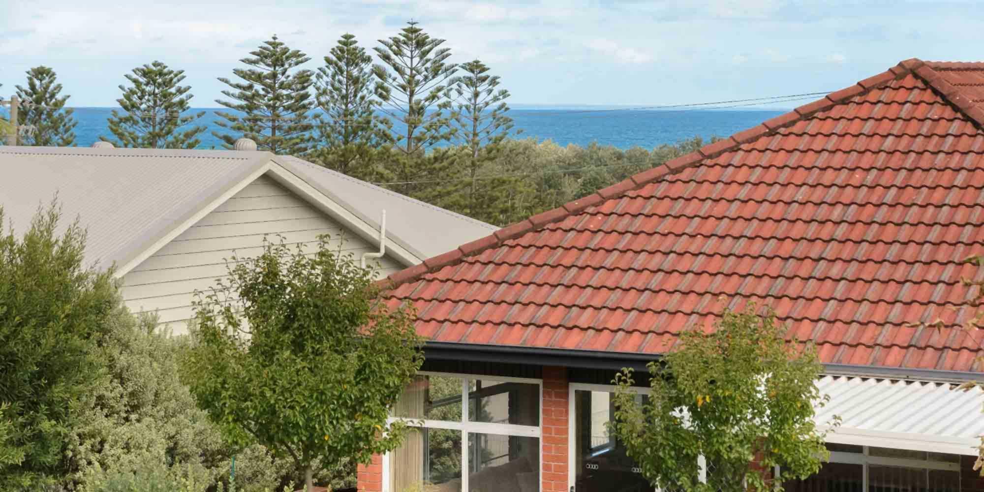 Backyard views at Southerly Change Gerroa accommodation at Seven Mile Beach, NSW
