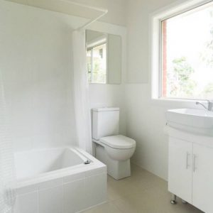 Second bathroom at Southerly Change, Gerroa holiday house accommodation at Seven Mile Beach, NSW
