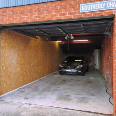 Spacious double-deep garage at Southerly Change, Gerroa holiday house accommodation at Seven Mile Beach, NSW