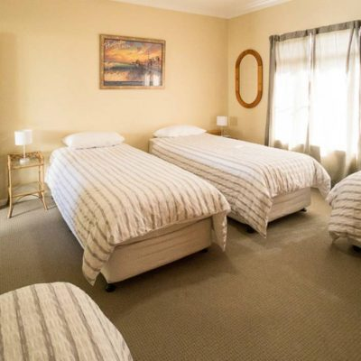 Third bedroom at Southerly Change, Gerroa holiday house accommodation at Seven Mile Beach, NSW