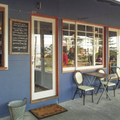 Blue Swimmer cafe at seven mile beach gerroa