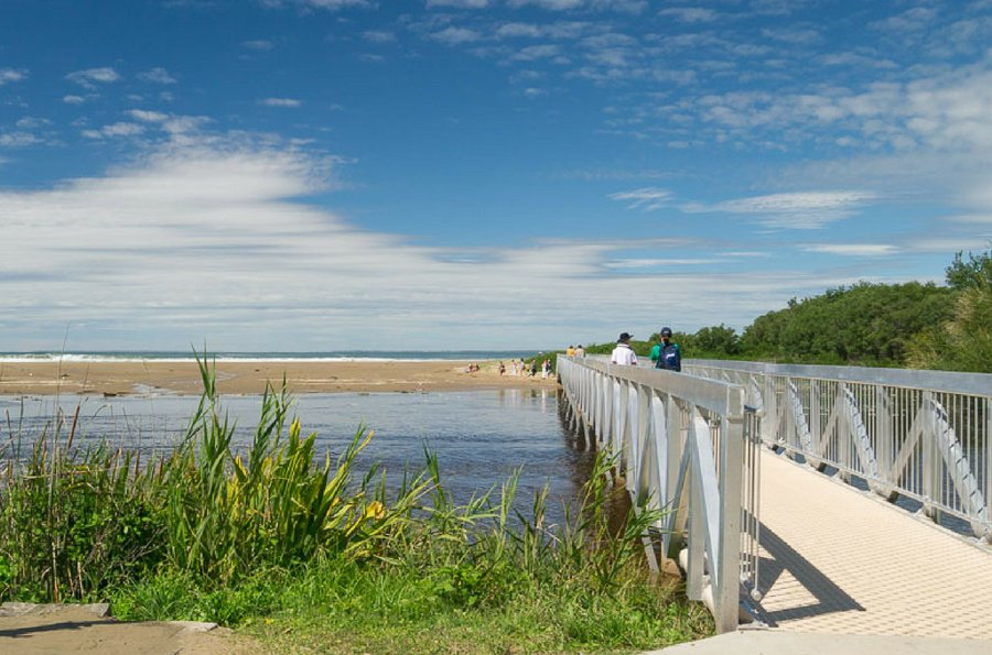 Southerly Change Is Within A Short Stroll Of These Popular Gerroa Spots Take The Footbridge To Sands Seven Mile Beach